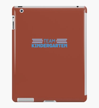 Team Kindergarten Teacher Back To School iPad Case/Skin