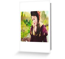 belle 3 Greeting Card