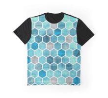 hexagon pattern Graphic T-Shirt