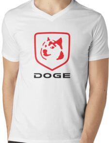 DOGE RAM Mens V-Neck T-Shirt