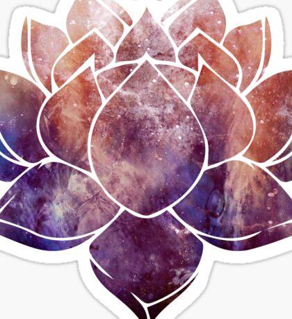 Buddhist Lotus Flower Sticker
