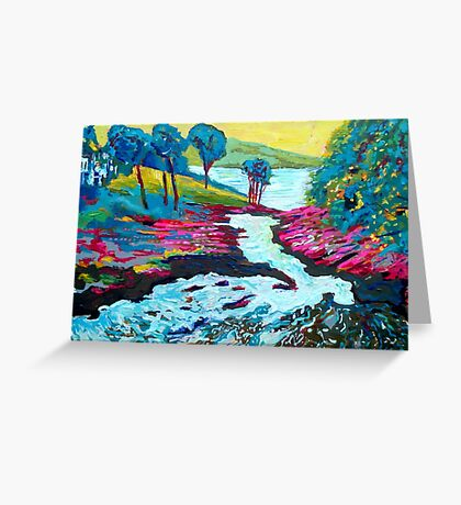 Sheen Falls, Kenmare, Kerry Greeting Card