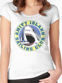 Amity Island Sailing Club Women's Fitted Scoop T-Shirt