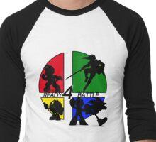 READY 4 BATTLE Men's Baseball ¾ T-Shirt