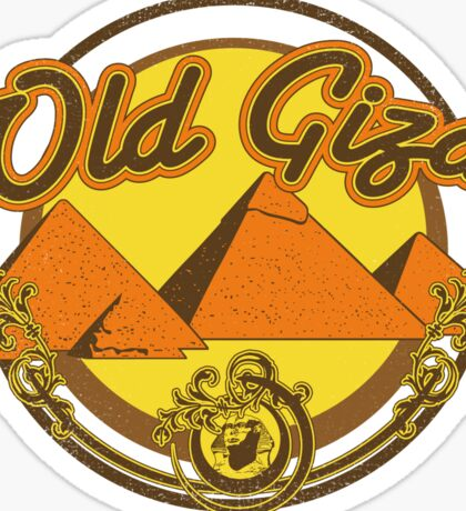 Old Giza Sticker