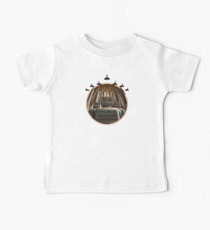 Robot Crest Baby Tee