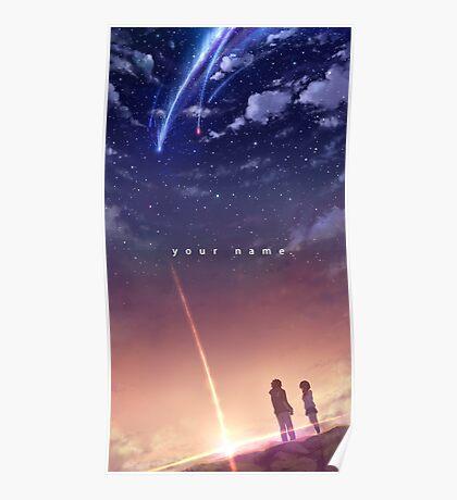 Kimi no na wa NEW POSTER Poster