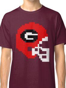 Georgia 8-bit Helmet Classic T-Shirt