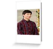 henry 1 Greeting Card