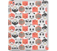 Animals honeycomb iPad Case/Skin