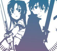 Sword Art Online - Kirito and Asuna Sticker