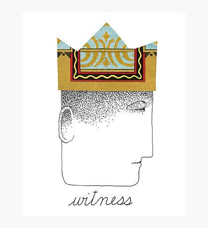 Silent Witness Photographic Print