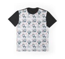 R-76 Pattern Graphic T-Shirt
