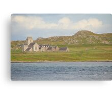 Iona Abbey from Fionnphort Canvas Print