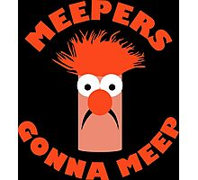Meepers Gonna Meep Photographic Print