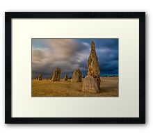 Evening pinnacles Framed Print