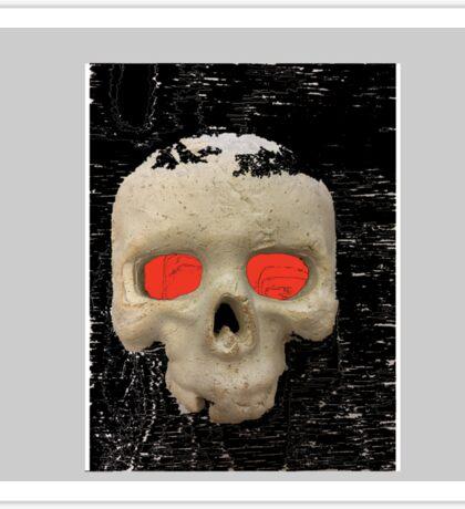 Deaths stare Sticker