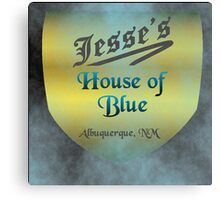 Jesse's House of Blue Canvas Print