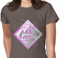 Biber Las Vegas Womens Fitted T-Shirt