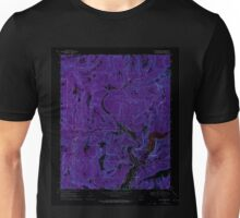 USGS TOPO Map Arkansas AR Mountainburg 259172 1969 24000 Inverted Unisex T-Shirt