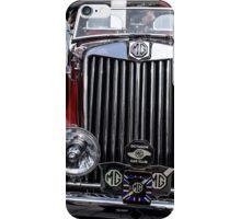 MG vintage car iPhone Case/Skin