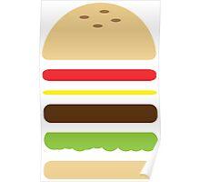 Cheese Burger Poster