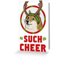 A Well Spirited Doge Greeting Card