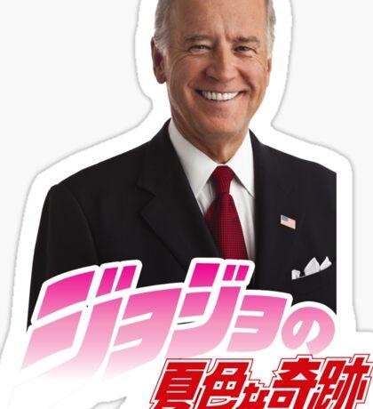JoJo Biden's Bizarre Adventure Sticker