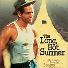 Long Hot Summer Classic Movie Poster by Simon Gentleman