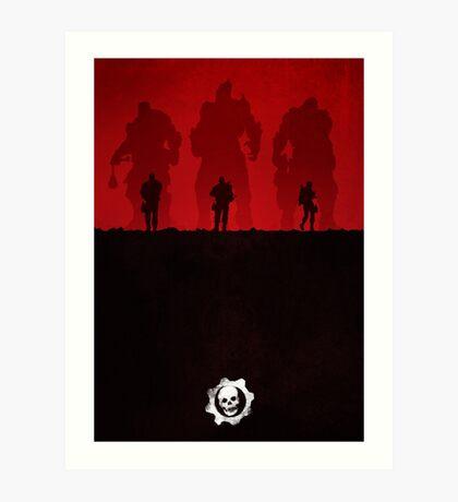 Warriors - Minimal Silhouette Poster Art Print