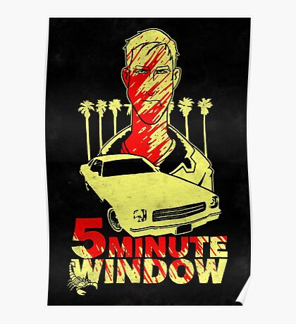 5 minute window Poster