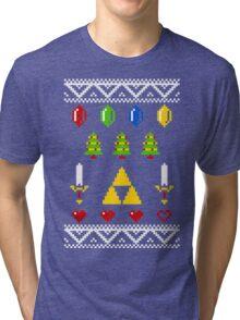 A Very Hyrule Xmas Tri-blend T-Shirt