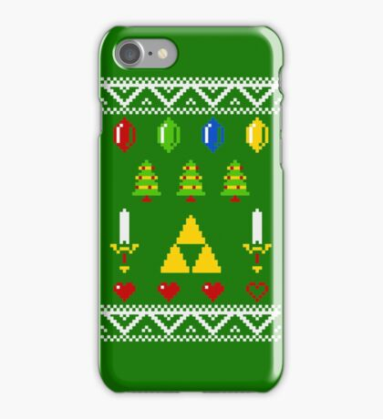 A Very Hyrule Xmas iPhone Case/Skin