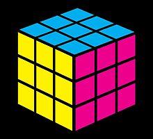 CMYK Cube by pyros