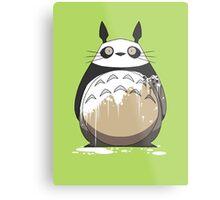 Totoro Painting Panda Metal Print