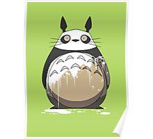 Totoro Painting Panda Poster