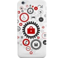 Medicine gear wheel iPhone Case/Skin