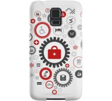 Medicine gear wheel Samsung Galaxy Case/Skin