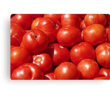 Farmers Market Tomatoes Canvas Print