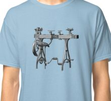 Barnes No. 3 Foot Powered Wood Turning Lathe Classic T-Shirt