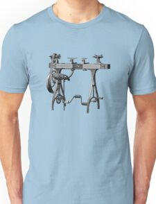 Barnes No. 3 Foot Powered Wood Turning Lathe Unisex T-Shirt
