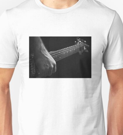 Steve on Lead Guitar Unisex T-Shirt