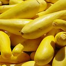 Farmers Market Yellow Squash by John Ayo