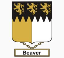 Beaver Coat of Arms (English) Kids Clothes