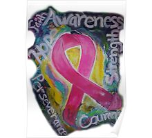 Abstract Breast cancer Poster