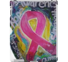 Abstract Breast cancer iPad Case/Skin