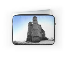 Donnington Castle In The Snow Laptop Sleeve