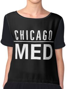 Medical Med Health in Chicago Chiffon Top