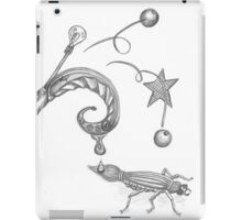 Creative Juices black and white iPad Case/Skin