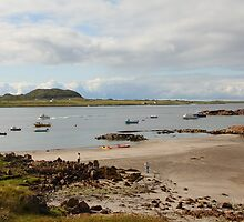 Iona from Fionnphort by Jonathan Cox